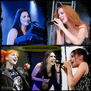 Band Metal Vokalis Wanita Terbaik Di Dunia