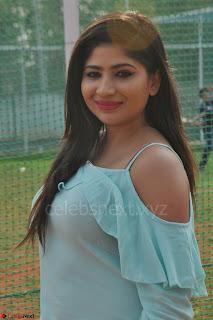 Madhulagna Das looks super cute in White Shorts and Transparent Top 53.JPG
