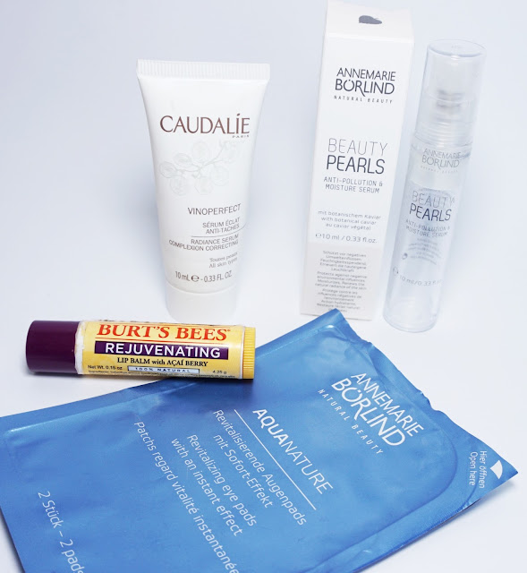 Aufgebrauchte Kosmetik - Februar 2016 Caudalie, Burt's Bees, Annemarie Börlind