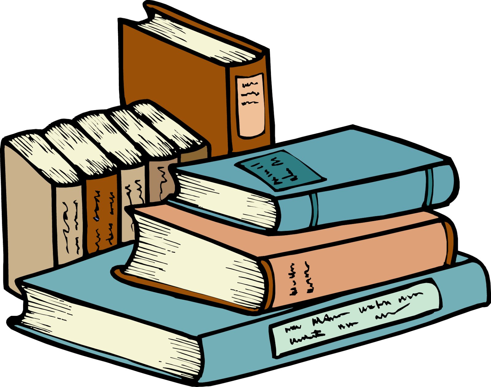 clipart for books - photo #22