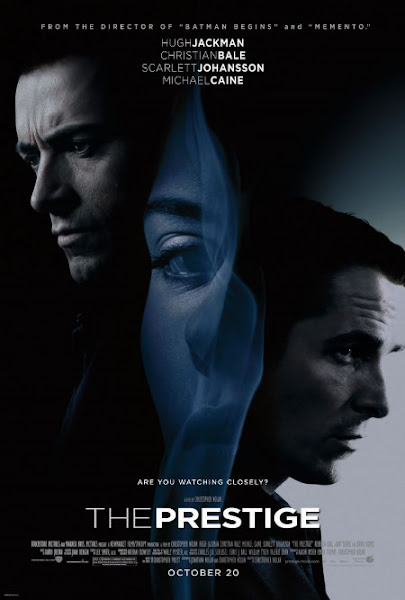 Poster of The Prestige 2006 720p Hindi BRRip Dual Audio Full Movie Download