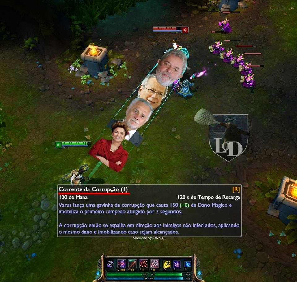 LOL. A verdade sobre o ult do Varus