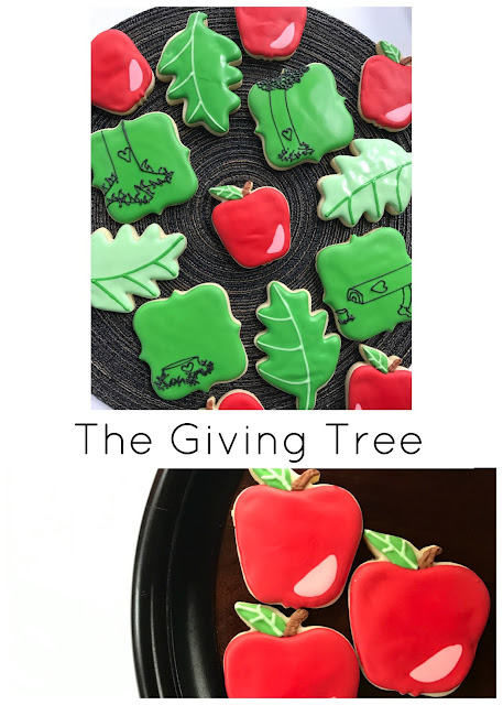giving tree teacher appreciation cookie set
