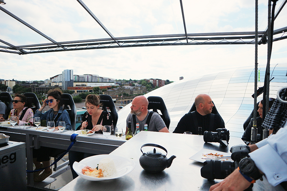 Dinning at 100ft - Events in the Sky with Chaophrya