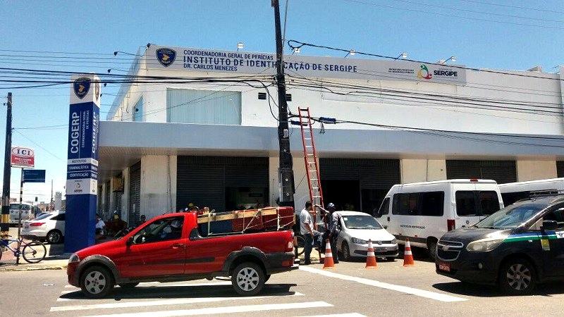 Resultado de imagem para Instituto de Identificação, localizado na Avenida Basílio Rocha, no Bairro Siqueira Campos, em Aracaju.