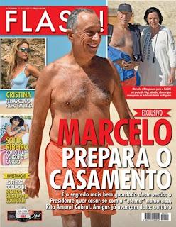 revista flash - Marcelo Rebelo de Sousa vai casar