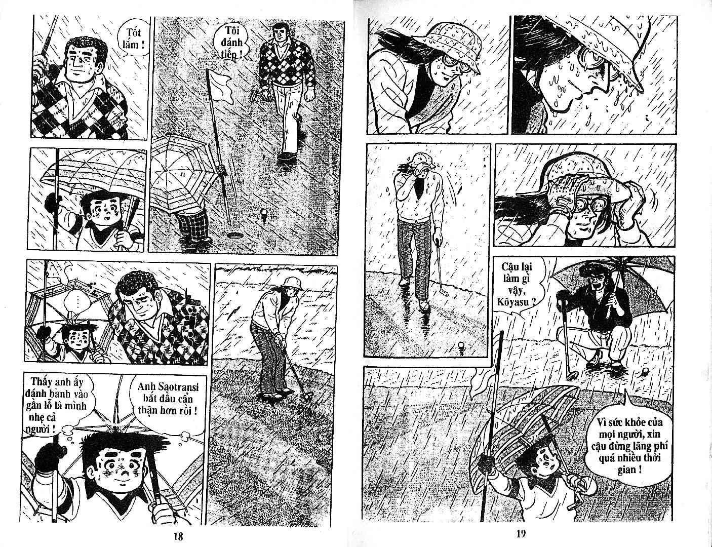 Ashita Tenki ni Naare chapter 27 trang 8