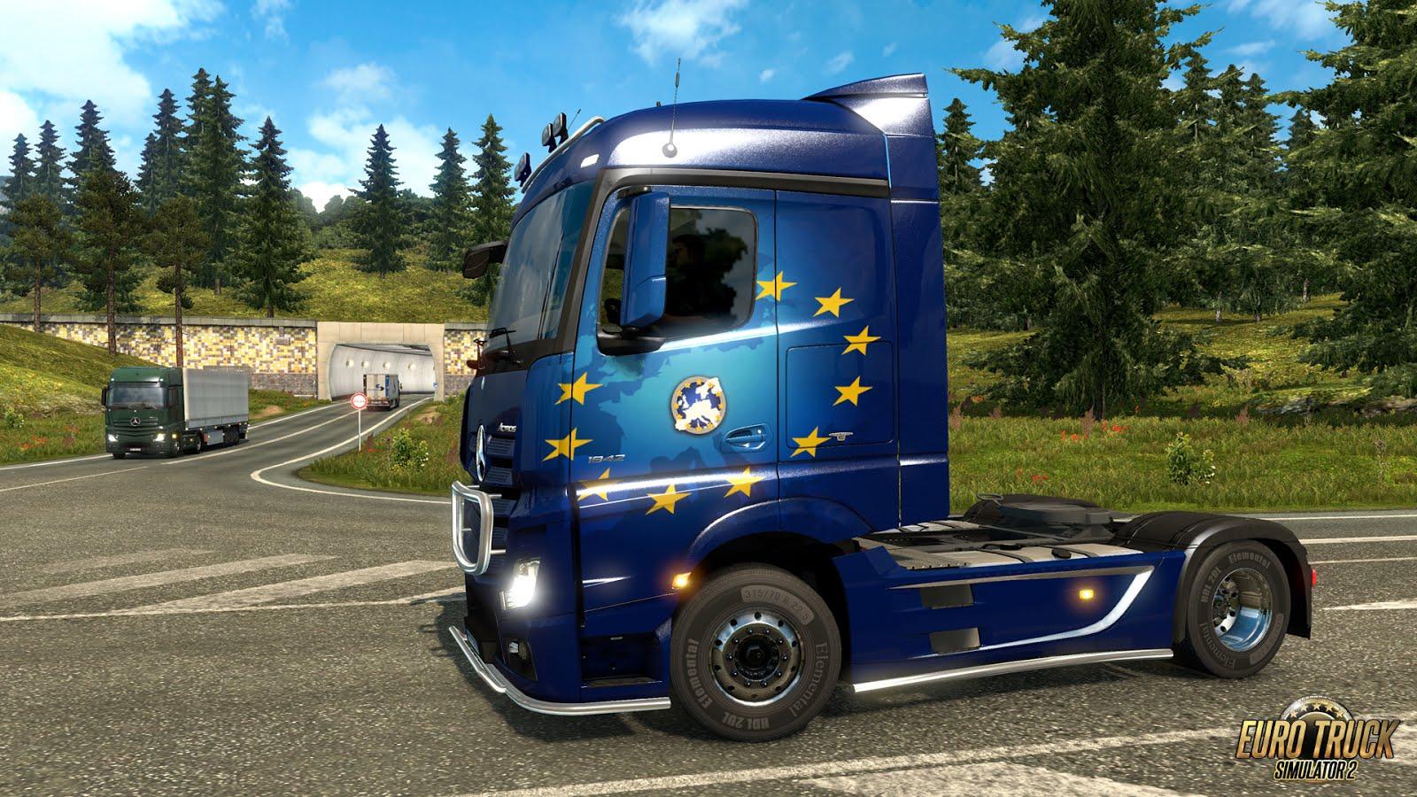 SCS Software's blog: Euro Truck Simulator 2 Company Paintjobs