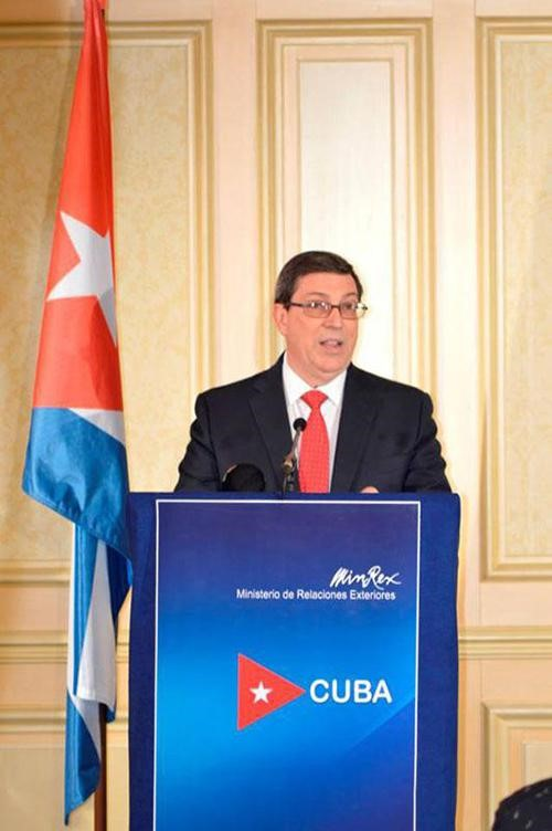Press conference with Bruno Rodríguez Parrilla, Cuban Minister of Foreign Relations