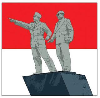 perhatikan gambar patung di atas siapakah tokoh yang diwujudkan dalam bentuk patung itu