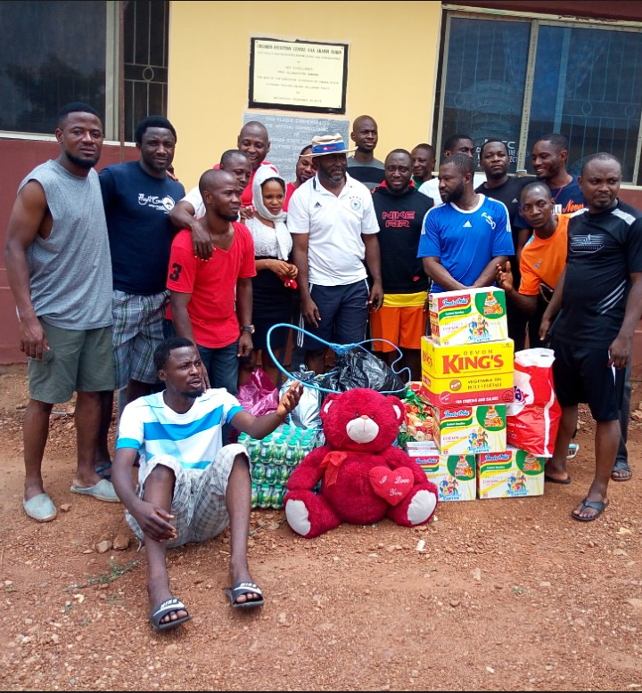 Excel Stars FC donates items to motherless, orphanage home