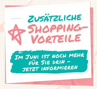 zusätzliche Shopping Vorteile