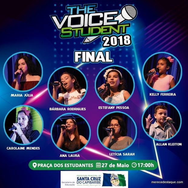 The Voice Student 2018 chega à reta final em Santa Cruz do Capibaribe