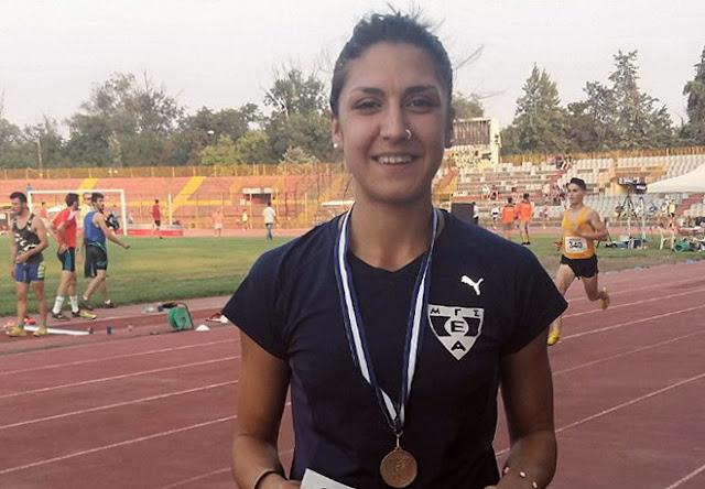 Χάλκινο μετάλλιο η Ναζίρη στο Πανελλήνιο πρωτάθλημα Στίβου