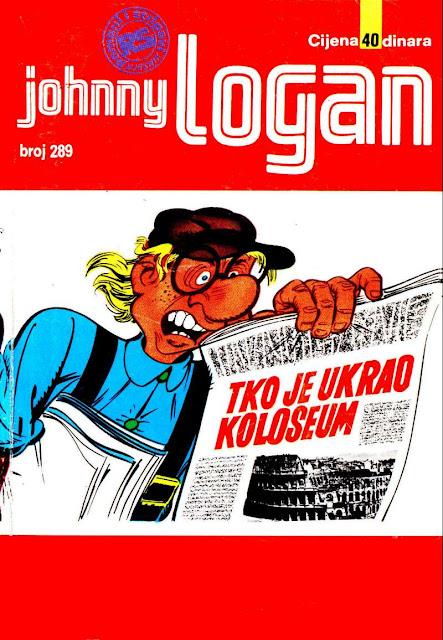 Tko je Ukrao Koloseum - Johnny Logan