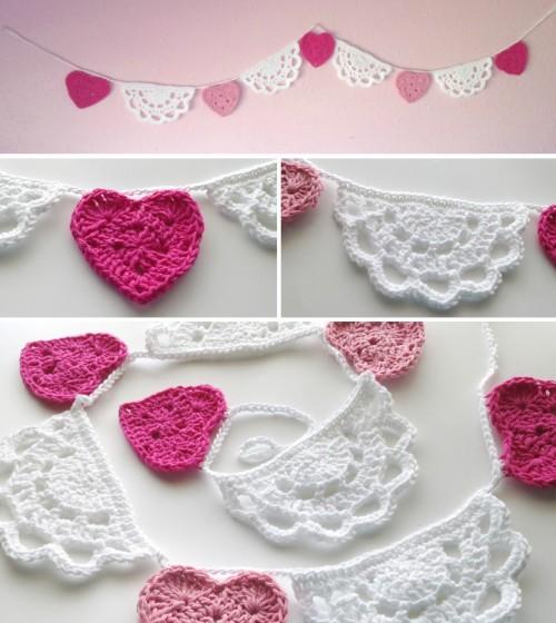Hearts & Doilies - Free Crochet Tutorial