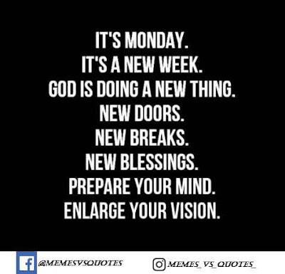 It's new week