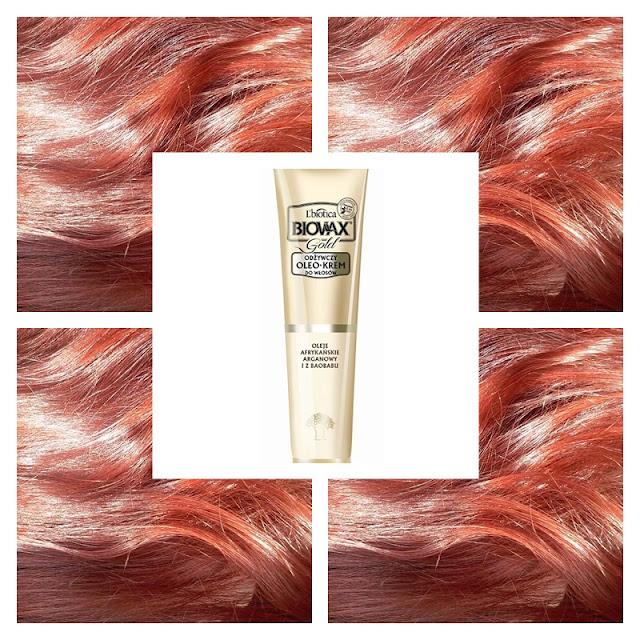 Biovax gold - odżywczy oleokrem do włosów