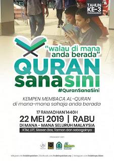 Quran Sana Sini Walau Di Mana Berada |