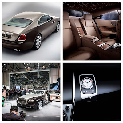 Rolls Royce Wraith Photos from Geneva, Goodwood (England) and All Press Releases