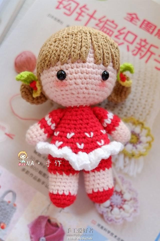 Amigurumi Rana : Sanny Crochet... Artes... Hobbies: Bonequinha de Vermelho ...
