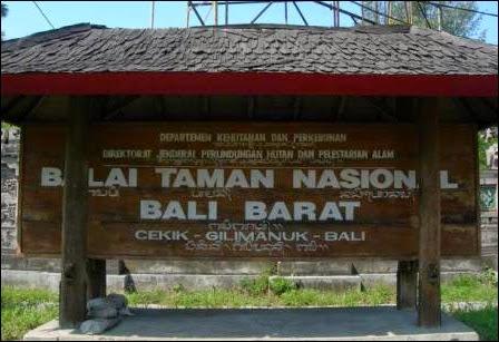 objek wisata Taman Wisata Nasional Bali Barat