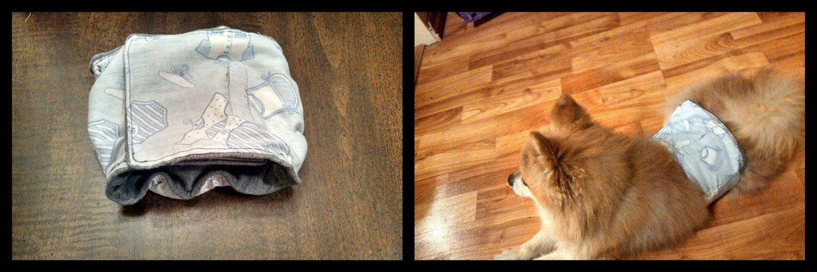 Grandma Bonnie S Closet Male Dog Belly Band Diaper Diy