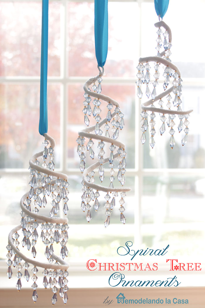 How to make a tree with beaded trim