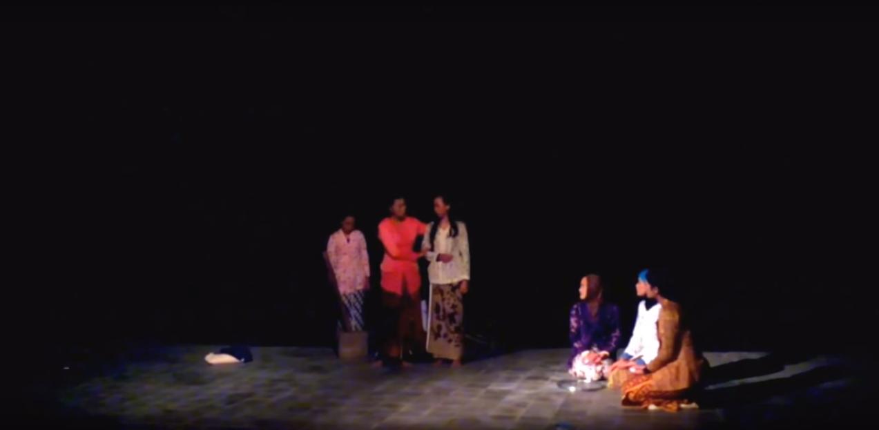 Gladi Resik Teather Of My Country Dalam Arus Balik Karya Pramoedya Ananta Toer