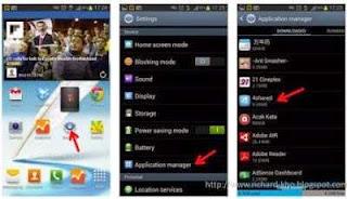 Cara Menghapus / Uninstall Aplikasi Android di HP Android