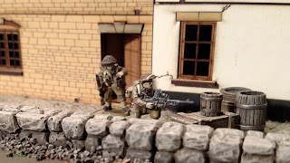 Painted Warlord Games Bolt Action British Commandos Bren LMG