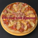 Pizza agridulce
