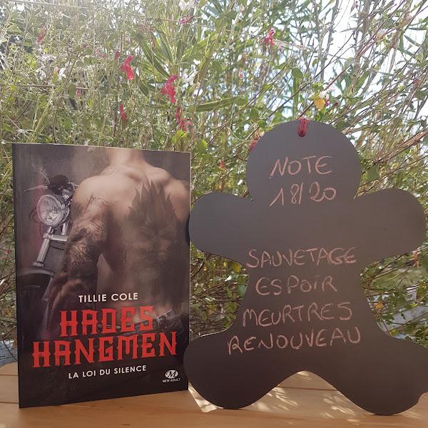 Hades hangmen, tome 5 : La Loi du silence de Tillie Cole