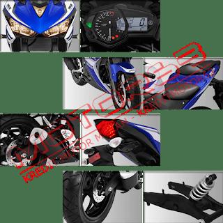 Fitur dan Spesifikasi Yamaha R25