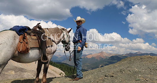 I rode 3 different horses at Chilcotin Holidays