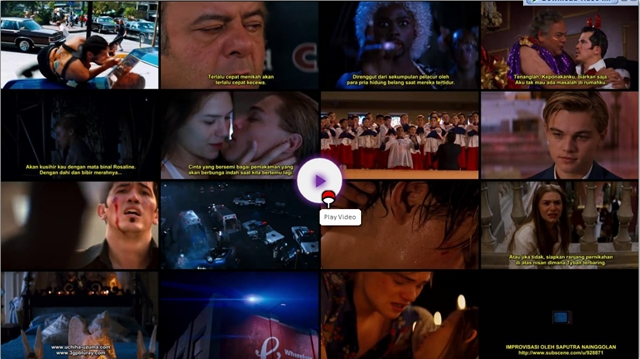 Screenshots Download Film Gratis Romeo + Juliet (1997) BluRay 480p MP4 Subtitle Indonesia 3gp