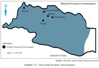 Wilayah Kerajaan Tarumanegara