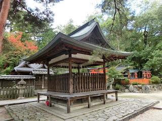 今宮神社若宮社拝殿