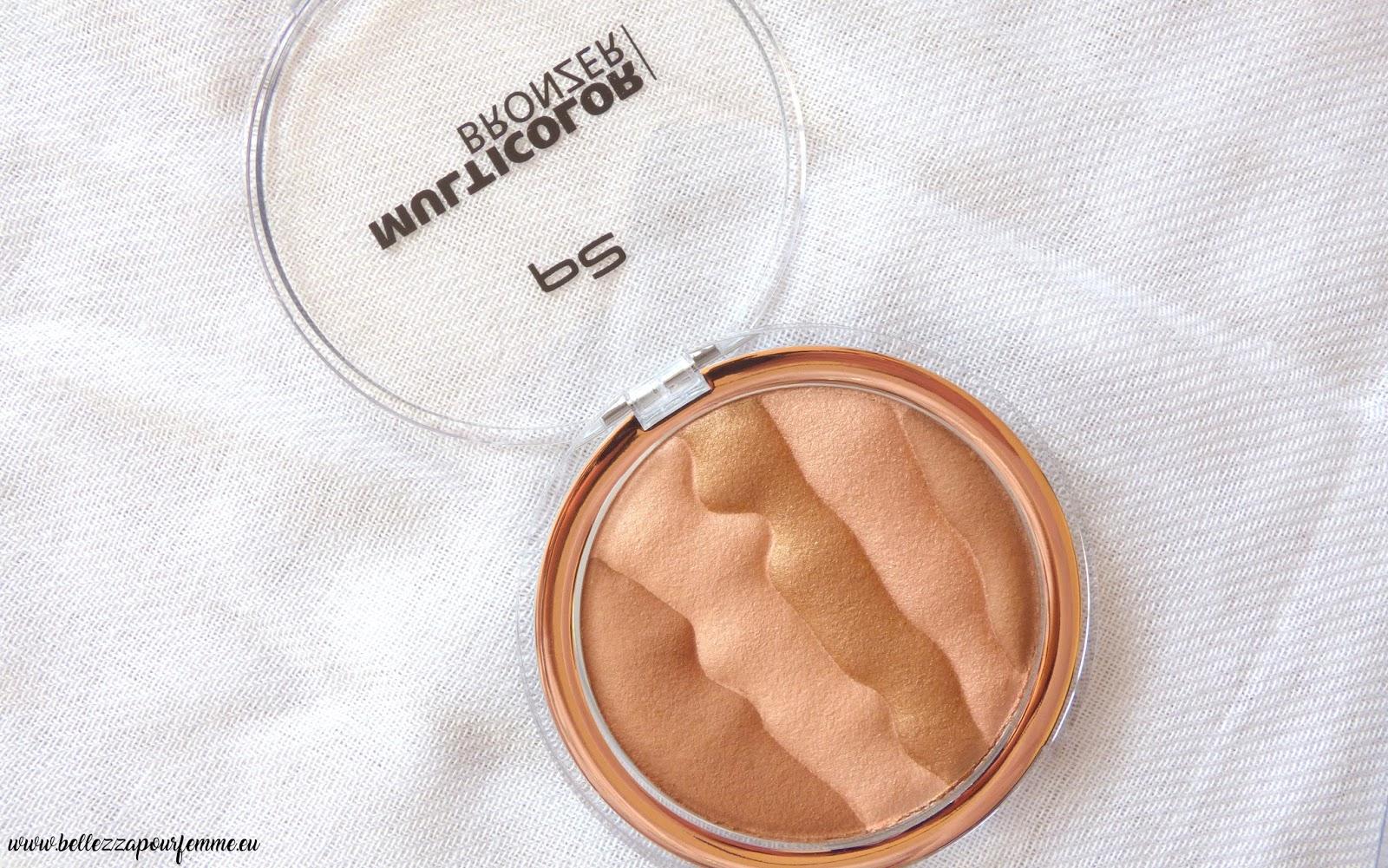 p2 Cosmetics - multicolor bronzer