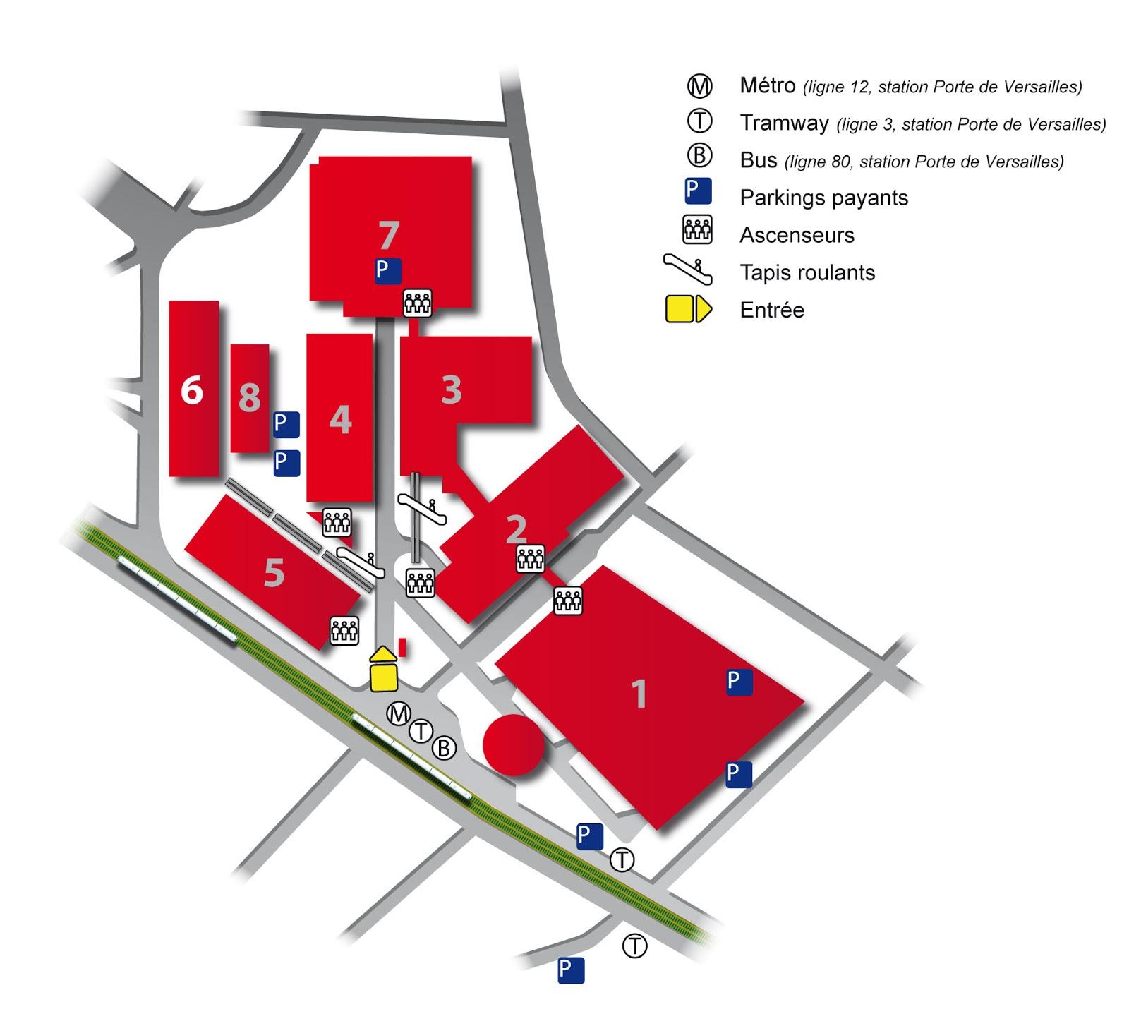 Mon plan moi illustrations infographies - Parc exposition porte de versailles ...
