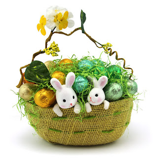 Easter gifts hampers dubai uae the m gift shop dubai gifts easter bunny basket large negle Gallery