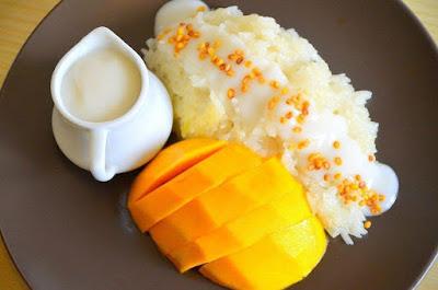 Resepi Pulut Mangga Thai Special