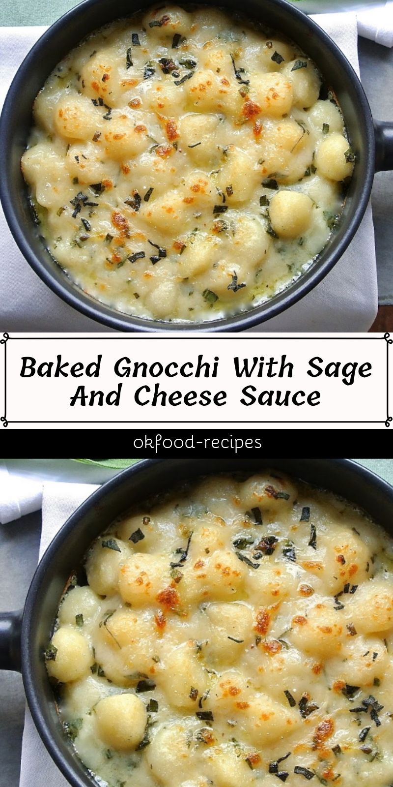 Baked Gnocchi With Sage And Cheese Sauce