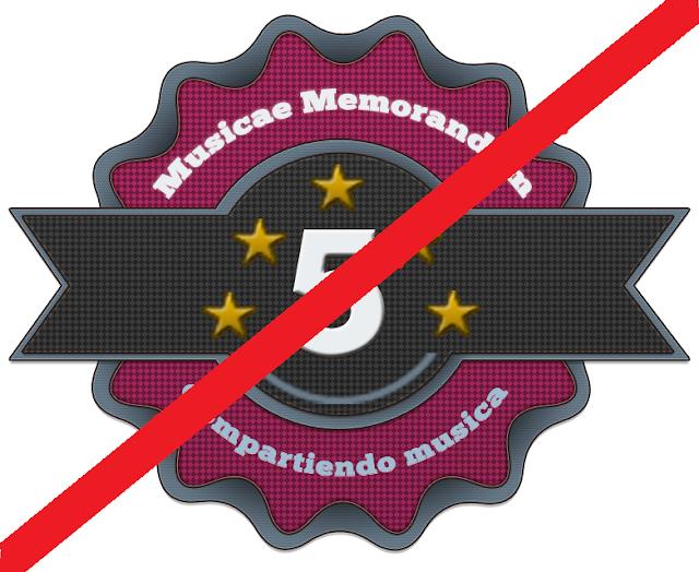 Fin del 5 aniversario de Musicae Memorandum