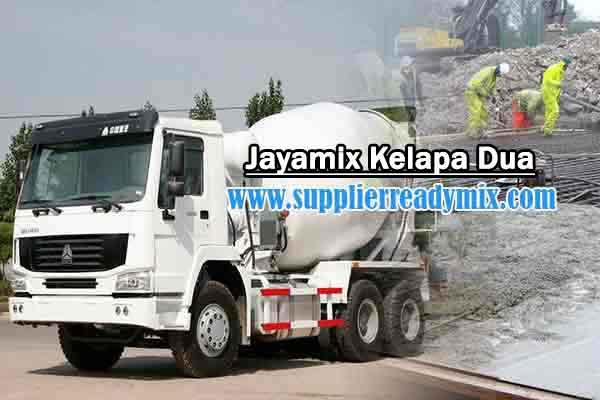 Harga Cor Beton Jayamix Kelapa Dua Per M3 Murah Terbaru 2021
