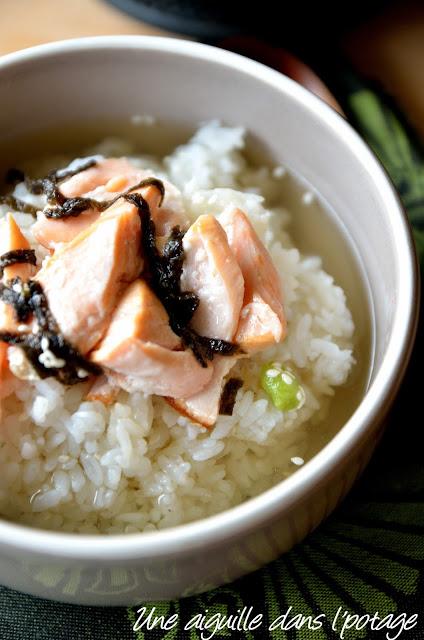 Ochazuke, riz au thé (お茶漬け) cuisine japonaise au thé