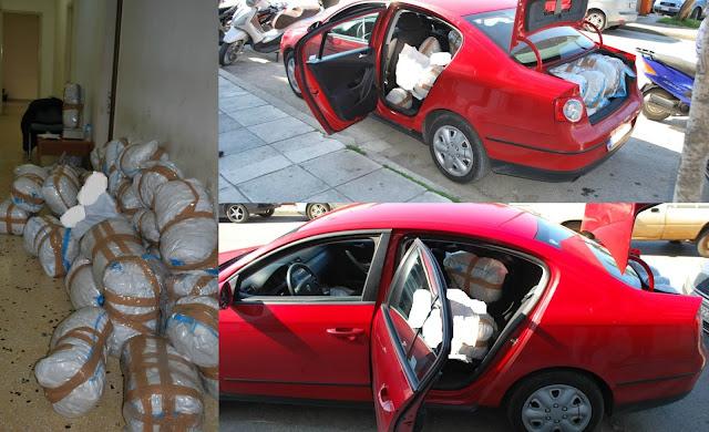 Ηγουμενίτσα: Συνελήφθησαν δύο ημεδαποί με 125 κιλά κάνναβης (+ΦΩΤΟ)