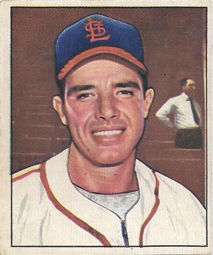Shoebox Legends 1950 Bowman Post 9 Jim Hearn