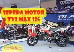 Sepeda Motor Seken TVS MAX 125
