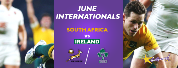 Image-of-South-Africa-versus-Ireland-header-with-Ireland-and-South-Africa-Rugby-crests-aswell-as-link-to-Hollywoodbets-Third-June-Test-Preview